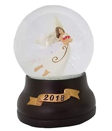 Trimming Traditions Christmas Musical Snowglobe - Angel (Musical Angel Snowglobe)