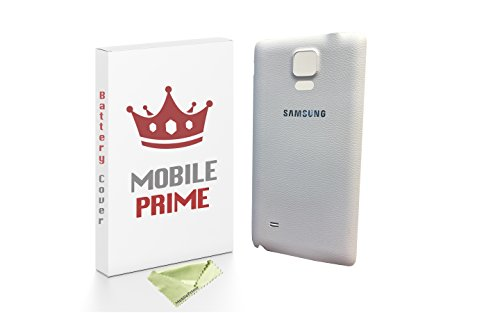 Samsung Galaxy Note 4 Replacement Rear Back Cover - MOBILEPRIME (White)
