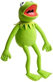 Toy Plush Kermit The Frog Plush Doll, The Muppets Movie Soft Stuffed Plush Toy, 15 inches (green)