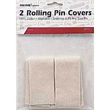 Fox Run Cotton Rolling Pin Covers, Set of 2