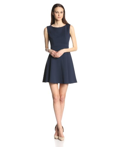 French Connection Women's Feather Ruth Classic Fit-and-Flare Dress