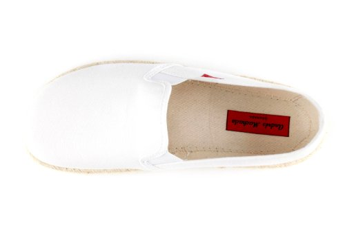 Pantofole Bianco Whitecanvas donna Andres Machado aqxPaz