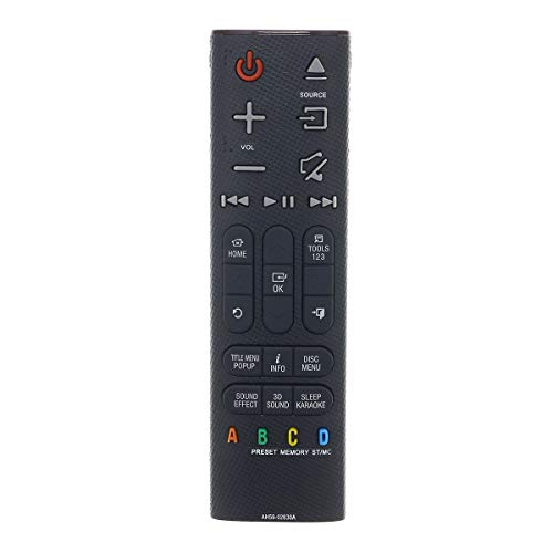 Remote Control Replaced for Samsung AH59-02630A TM1471 HT-H6500WM/ZA HT-H7730WM HT-J7750W Blu-ray DVD Home Theater Entertainment System