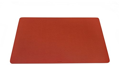 Maruse Desk Pad / Mat 25.6'' x 15.8'' - Made in Italy (Orange) by Maruse