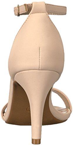 DREAM PAIRS Womens Jenner Dress Pump Nude Nubuck ivkqT4rXO5