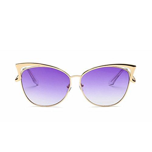 de Femmes Lunettes TLMY La Soleil Purple Lunettes des Américaine Mode Européenne xaqPw