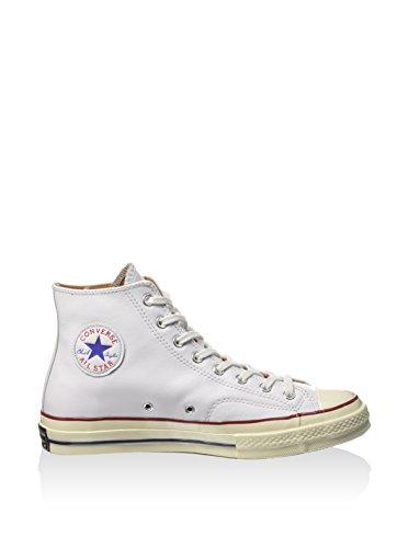 Converse Chuck Taylor 1970s Sneakers Alte In Pelle Bianco Bianco / Garzetta