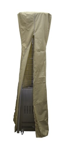 "AZ Patio Heater Heavy Duty Waterproof Triangle Glass Tube Heater Cover - 94"" - Camel"