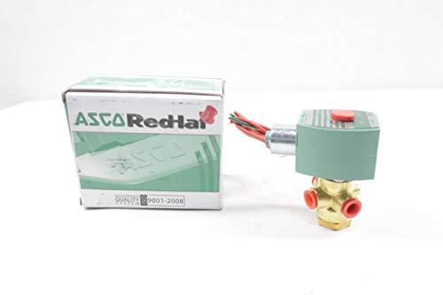 ASCO 8320G172 RED-HAT II Solenoid Valve 24V-DC 1/4IN NPT D647113