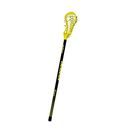 debeer-lacrosse-impulse-pro-full-stick-gripper-with-s-pocket-and-17-inch-laces-yellow
