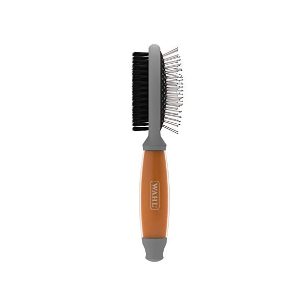 Wahl Double Sided Brush with Soft Grip Gel Handle 1