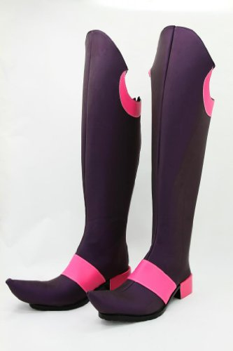Little Witch Academia Akko Kagari Cosplay Shoes Boots shoe boot :Free shipping