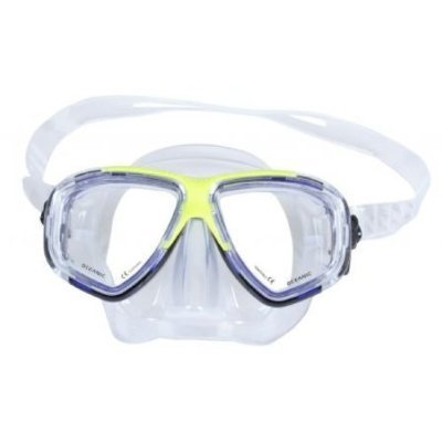 New Oceanic Ion 2 Scuba Diving & Snorkeling Purge Mask (TriColor) with FREE Neoprene Comfort Strap ($12.95 Value) - Optional Prescription Lens are Available ()