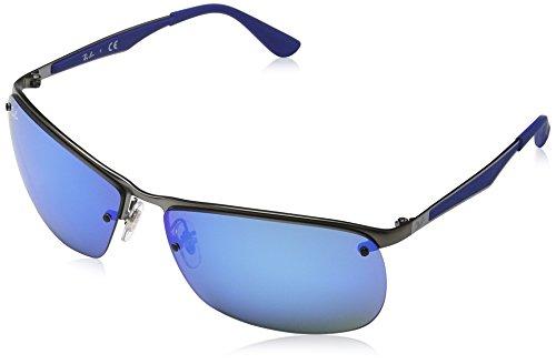 Blue RB Gris Gunmetal 3550 Ban Ray Sonnenbrille ExqwOYTH8