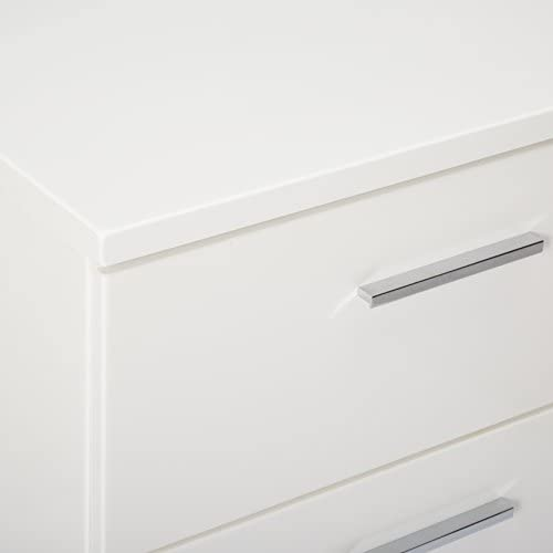home, kitchen, furniture, bedroom furniture,  nightstands 7 picture Felicity 2-drawer Nightstand Glossy White deals