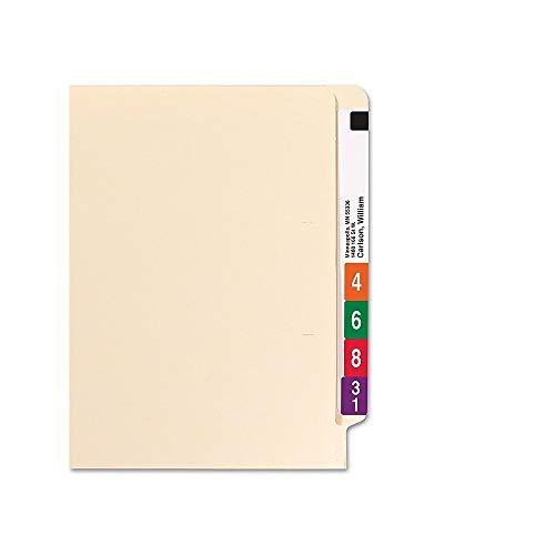 Staples 613393 Manila End-Tab File Folders Single-Ply Tab Letter 250/Box