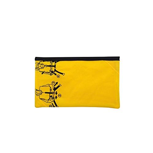 Partybag Soirée to upcycling Clutch Life de unique Bag Sac sauvetage Gilet en une de YIqCB
