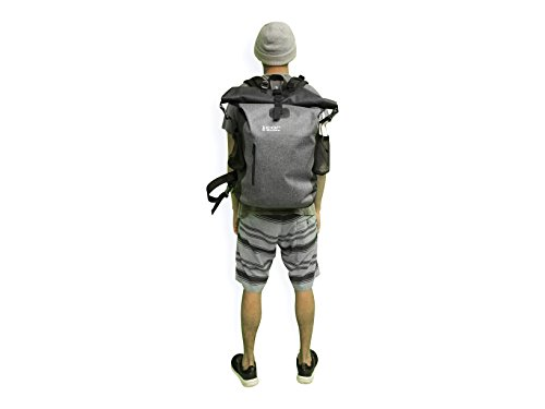 83f2b0e3fde Waterproof Backpack - Ultralight 40L Dry Pack with Removable Laptop Sleeve  and Secret Passport Pocket by