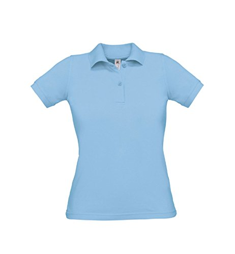 Polo Safran Pure / Mujer Sky Blue