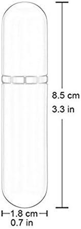 Peanutaod Duftstoff Zerst/äuber Flaschen nachf/üllbare Spielraum Mini beweglichen Spray Pink Flaschen Set mit Trichter Pumpe und Pipette 6 ml Set
