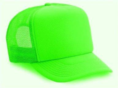 Neon Mesh Trucker Hat Cap