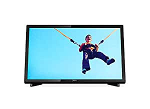 Philips 5000 22PFT5403/98 22-Inch 1080 DVB-T/T2 Full HD Ultra Slim LED TV, Black