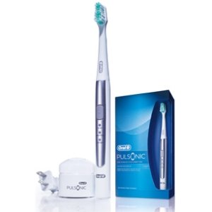 ORAL-B, Oral-B Pulsonic Sonic Toothbrush (Catalog Category: Small Appliances & Housewares / Health & Beauty Care)