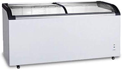 congelador - 445 litros - con puerta corredera de cristal: Amazon.es: Grandes electrodomésticos