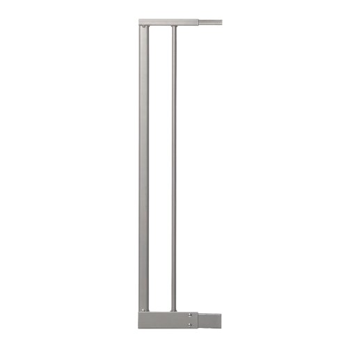 Dreambaby Magnetic Sure Close Gate Extension, Silver, 5.5