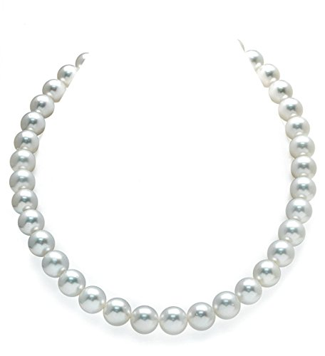14K Gold 11-12mm Australian White South Sea Cultured Pearl (White Australian South Sea Pearl)