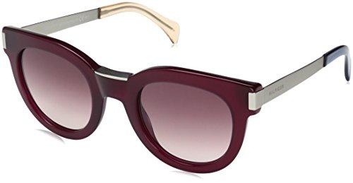 Tommy Hilfiger Women's Th1379s Rectangular Sunglasses, Burgndy Palladium/Burgundy Gradient, 49 - Sunglasses Prescription Hilfiger Tommy