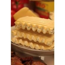 Carlas Pasta Curly Cheese Lasagna Stacker, 3.5 Ounce -- 68 per case. by Carlas Pasta