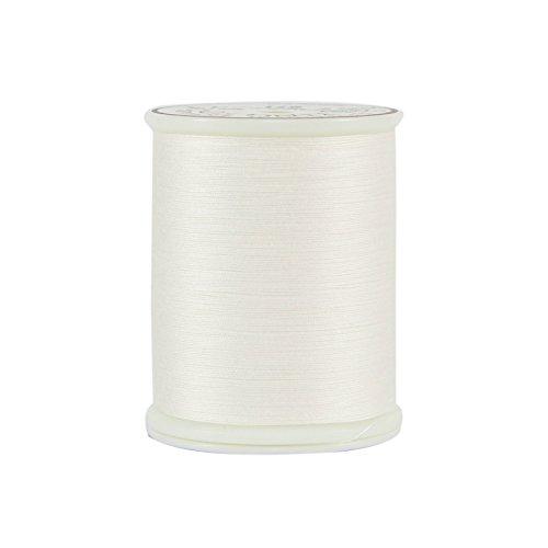 Superior Threads 12101-971 King Tut White Linen 3-Ply 40W Cotton Quilting Thread, 500 yd (Cotton Linen Thread)