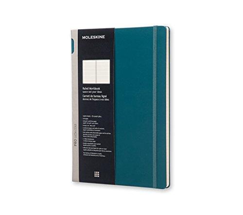 Moleskine Workbook Rule A4 Hard, Tide Green (8051272891539)
