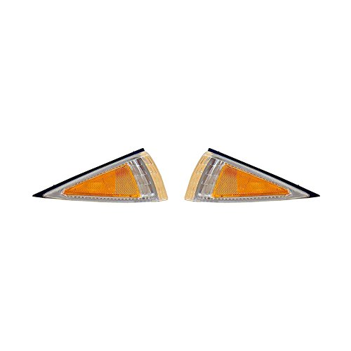 NEW PAIR OF SIDE MARKER LIGHTS FITS CHEVROLET CAVALIER 1995-99 5978064 GM2551137 5978063 GM2550137