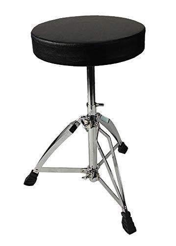Drum Throne Chrome Double