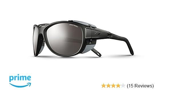 Amazon.com  Julbo Eyewear Unisex Explorer 2.0 Sunglasses Matte Black ... 6330a4cdd924