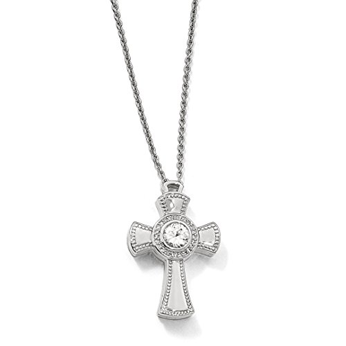 ICE CARATS 925 Sterling Silver Sapphire Magnetic Cross Religious Adjustable Chain Necklace Pendant Charm Crucifix Gemstone Fine Jewelry Ideal Gifts For Women Gift Set From Heart -