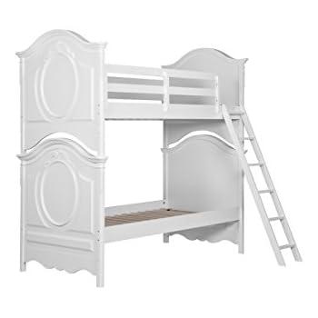 Amazon Com Pulaski Princess Youth Bunk Bed With Ladder
