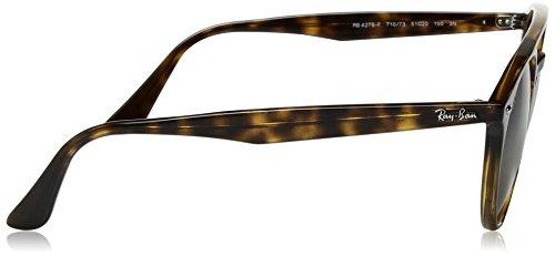 a30865e0e5fd6 Amazon.com  Ray-Ban Injected Unisex Round Sunglasses, Shiny Havana, 51 mm   Clothing