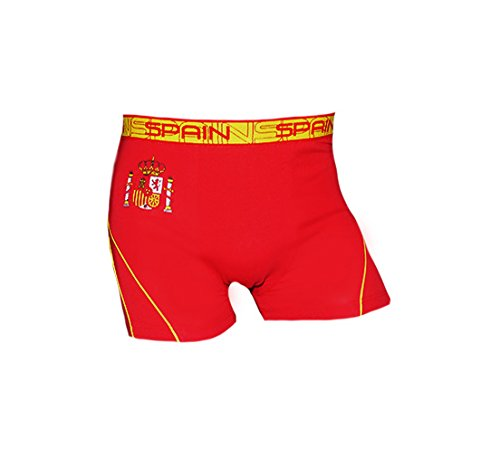 New Sexy Men's Spain Underwear Boxers Country Flag World Cup Soccer Futbol Size M