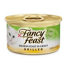 Purina Fancy Feast Cat Food - Salmon Feast in Gravy (3oz.)