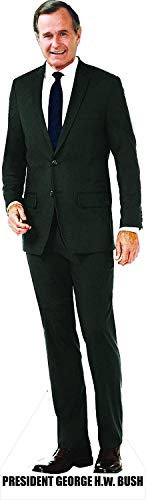 Aahs Engraving President George H W Bush Life Size Carboard Stand Up, 6 feet� (Bush Cardboard Cutout)