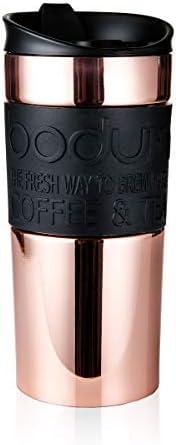 Bodum 11068-18S Travel Mug, 12 oz, Copper