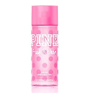 Victoria's Secret Pink with a Splash Fresh and Clean All Over Body Mist 8.4 Ounces