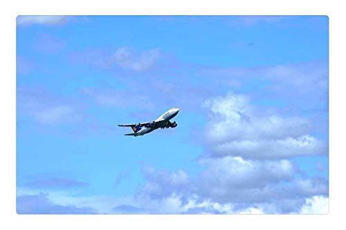 Tree26 Indoor Floor Rug/Mat (23.6 x 15.7 Inch) - Aircraft Fly Sky Wing Aviation Flyer