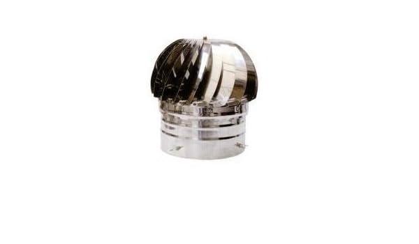 Sombrero giratorio para tubos de 250 a 300 mm en Inox Aisi 304 ...