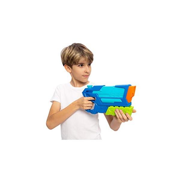 JOYIN 3 in 1 Pistole ad Acqua Potenti Bambini Adulti Super Soaker Superliquidator Fucile ad Acqua Giardino Giocattolo di… 3 spesavip