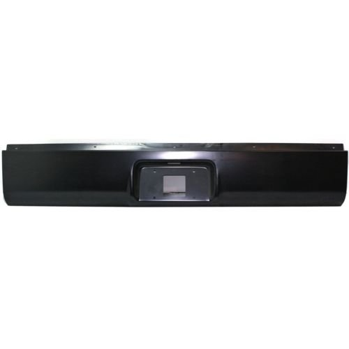 Perfect Fit Group REPC825513 - Silverado / Sierra P/U Rear Roll Pan, Steel, W/ License Plate Part, W/ Light Kit And - Rear Pan Roll Bumper