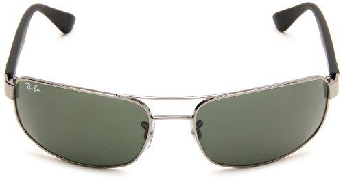 e359f99dadac5 Rayban Rb3445 Gunmetal Green